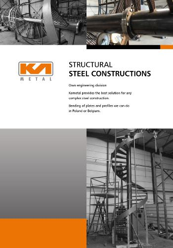 structural steel constructions brochure