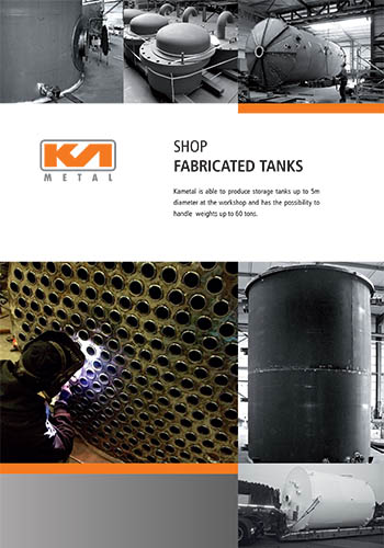 shop fabricated tanks